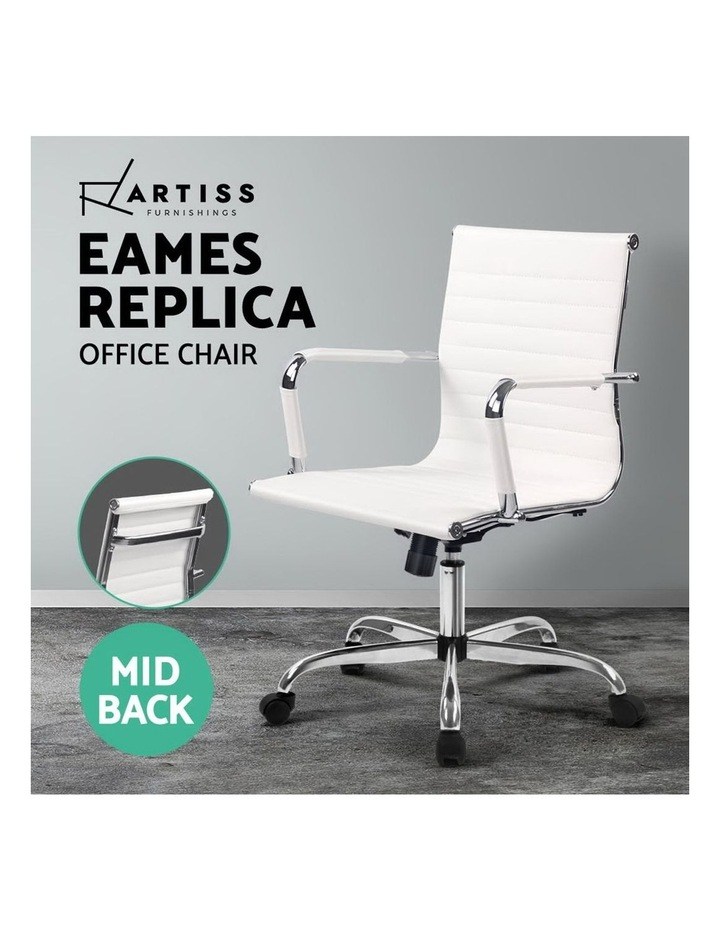 Eames Replica Premium PU Leather Office Chair image 3