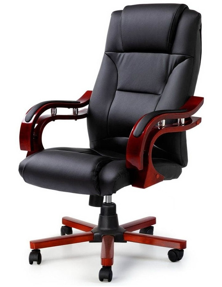 Executive Wooden Office Chair image 3