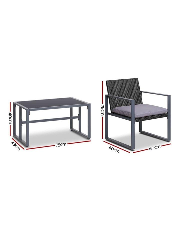 4pc Patio Furniture Set image 2