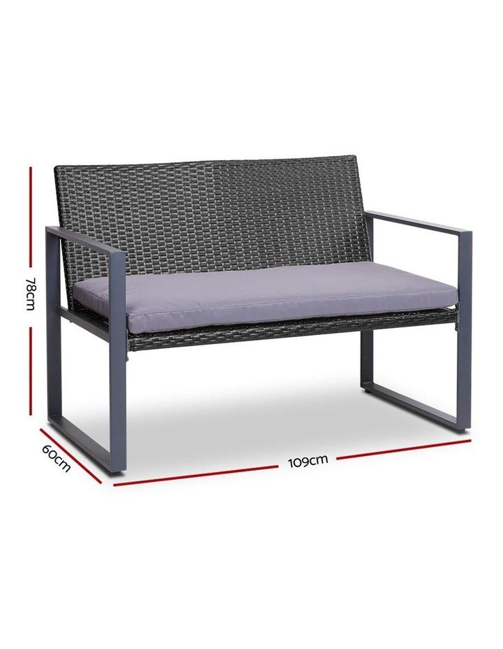 4pc Patio Furniture Set image 3
