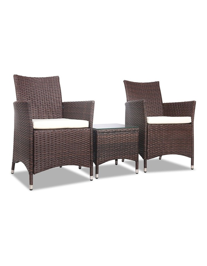3 Piece Wicker Outdoor Furniture Set image 1