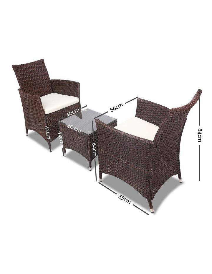 3 Piece Wicker Outdoor Furniture Set image 2