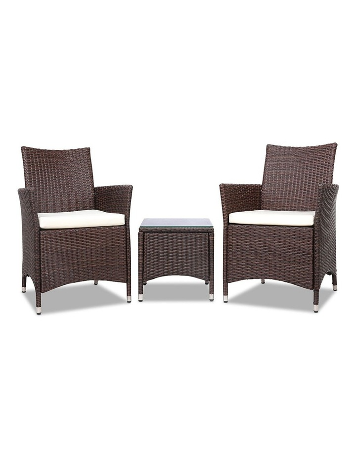 3 Piece Wicker Outdoor Furniture Set image 3