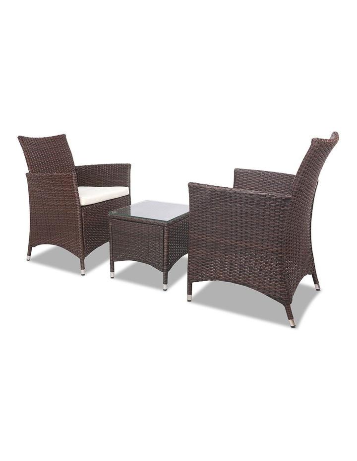 3 Piece Wicker Outdoor Furniture Set image 4