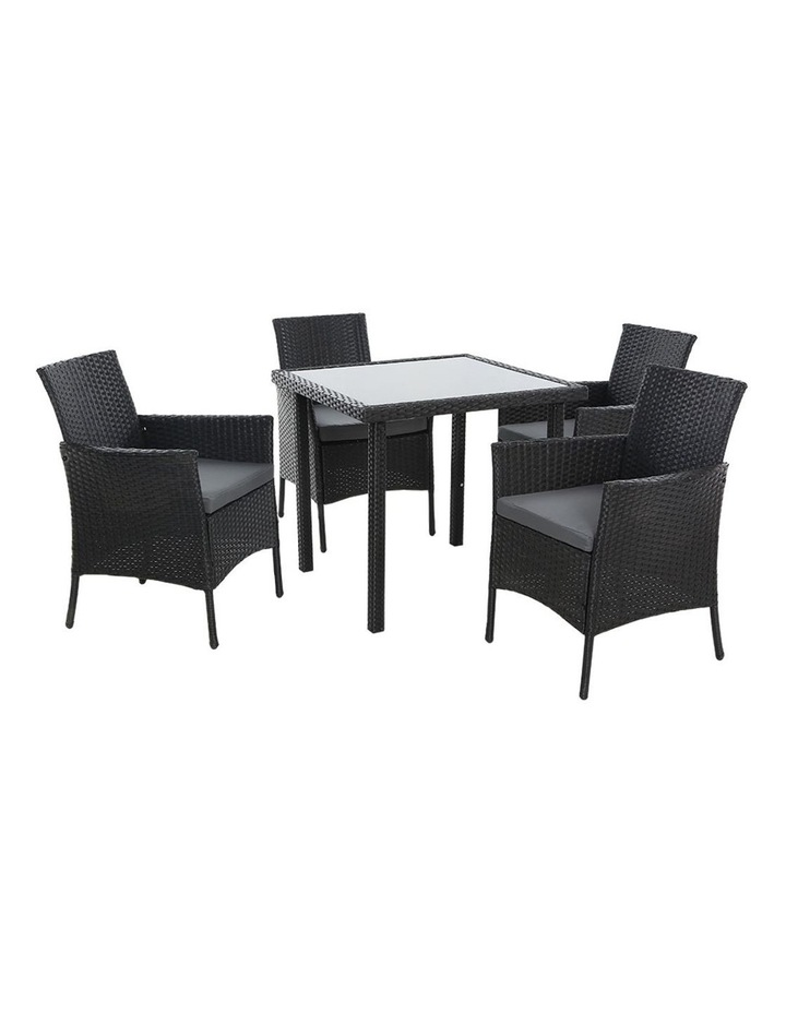 Outdoor Dining Set 5PCS image 1