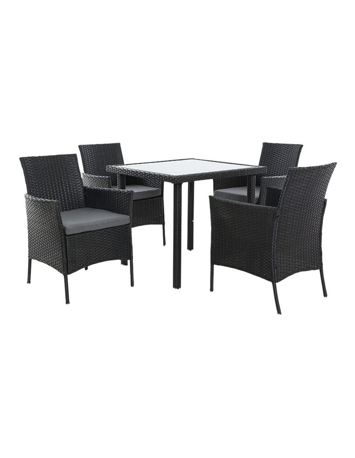 Outdoor Dining Set 5PCS image 3