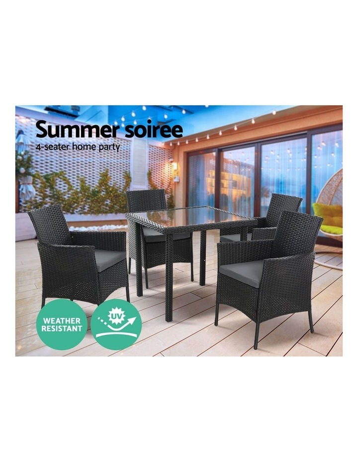 Outdoor Dining Set 5PCS image 4