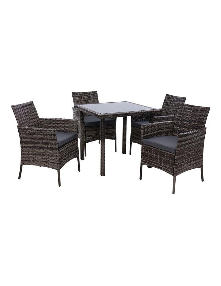 Outdoor Dining Set 5PCS image 1