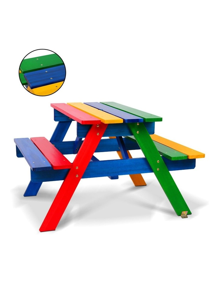 Keezi Kids Wooden Picnic Bench Set image 3