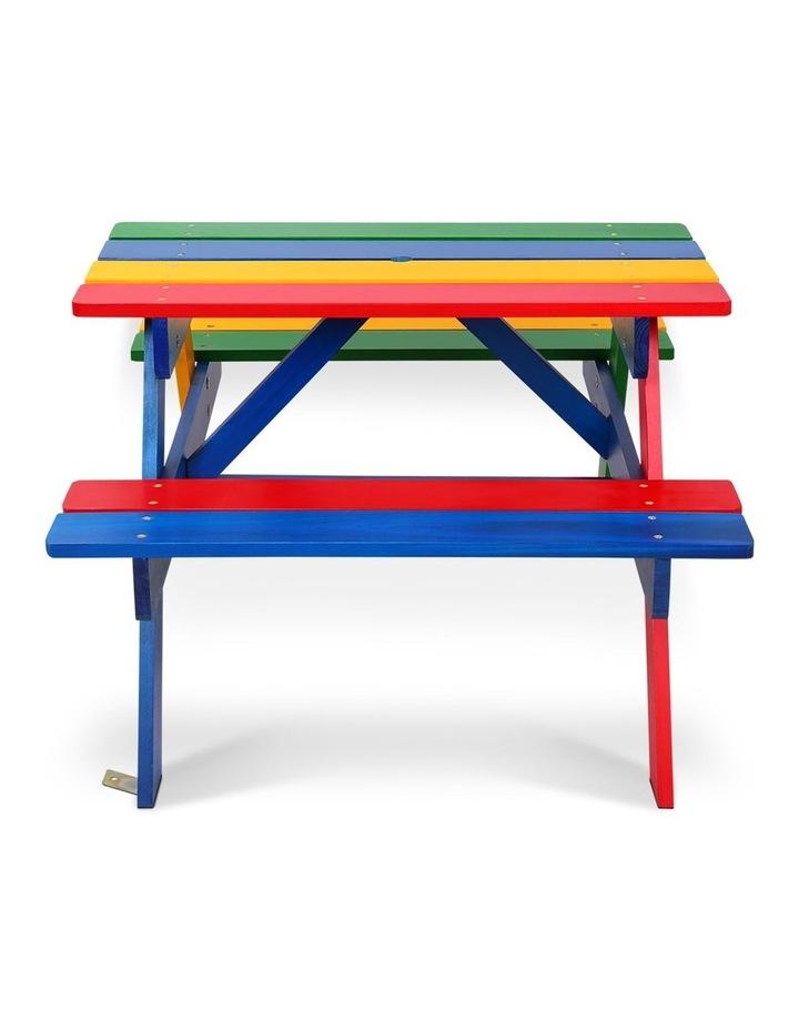 Keezi Kids Wooden Picnic Bench Set image 4