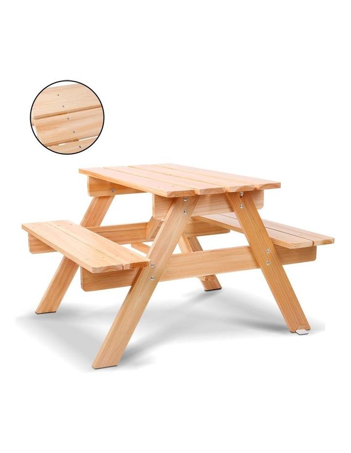 Keezi Kids Wooden Picnic Bench Set image 5