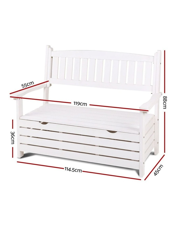 Outdoor Storage Bench image 2