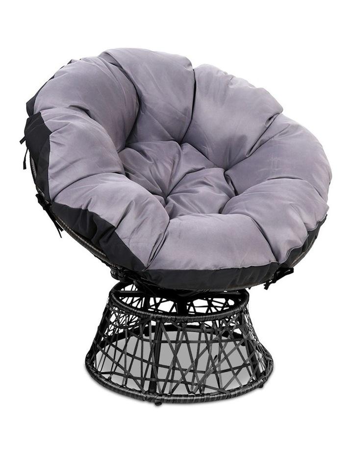 Papasan Swivel Chair image 1