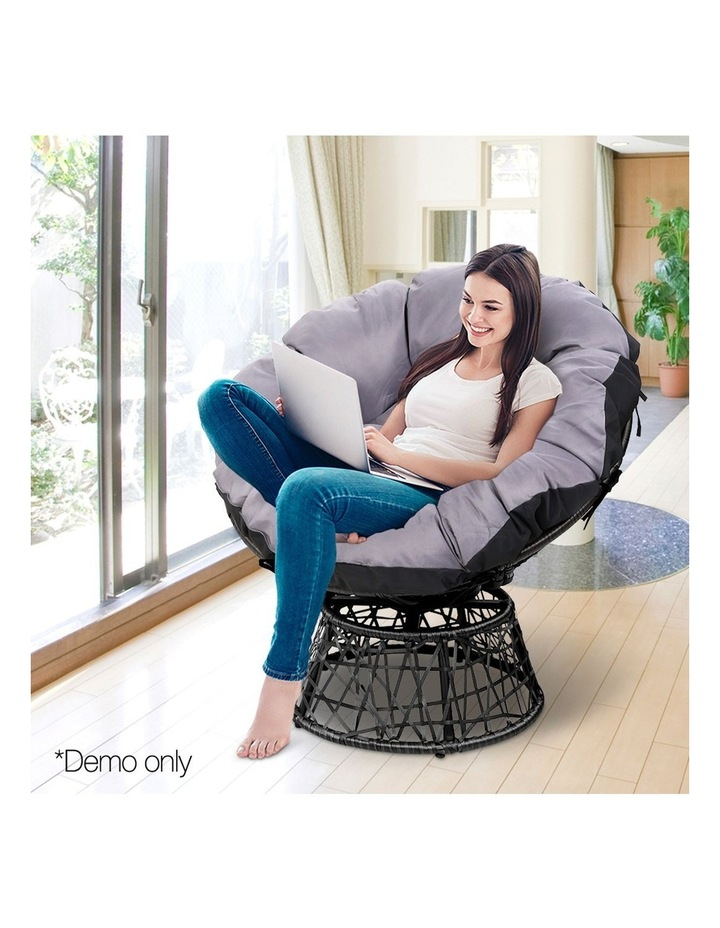 Papasan Swivel Chair image 3