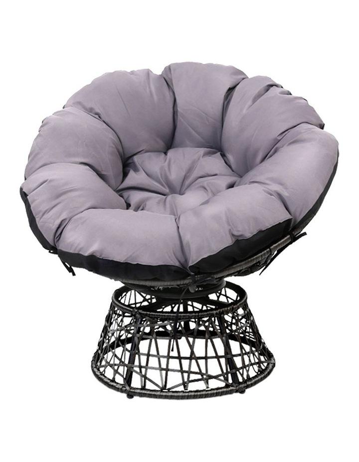 Papasan Swivel Chair image 4