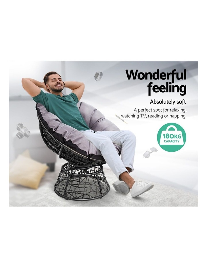 Papasan Swivel Chair image 5