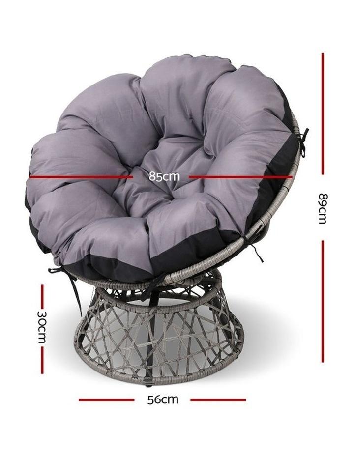 Papasan Swivel Chair image 2