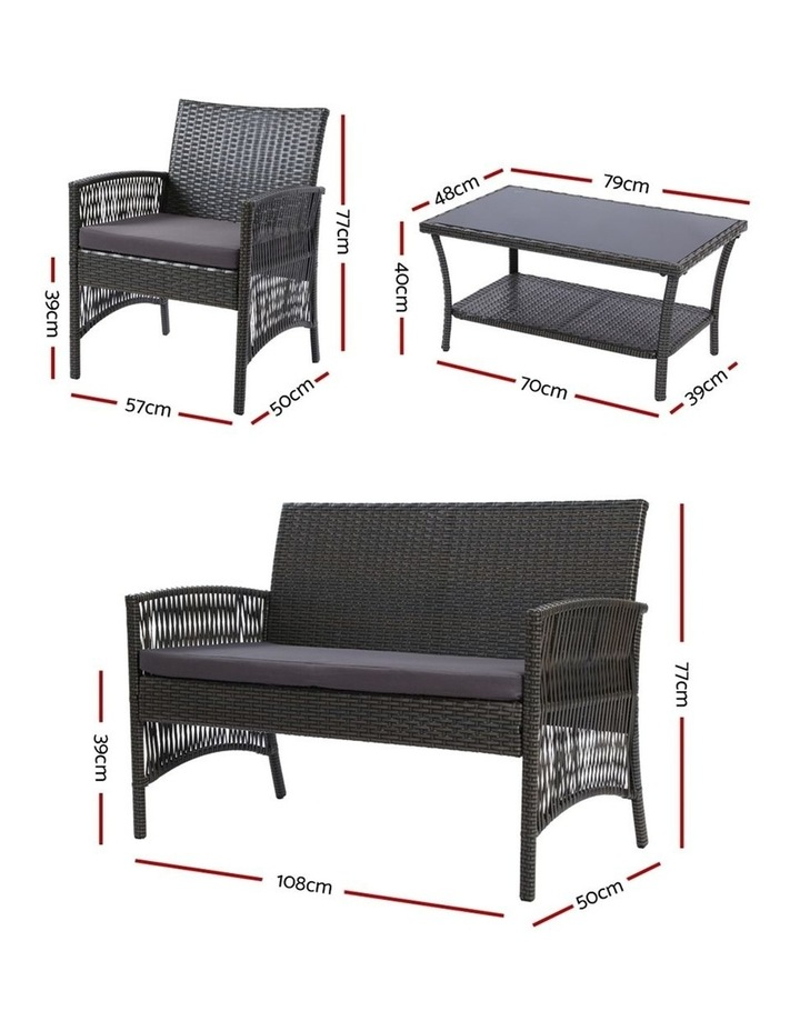 Outdoor Furniture Rattan Set image 2