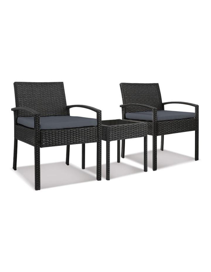 Gardeon 3-piece Outdoor Set - Black image 1