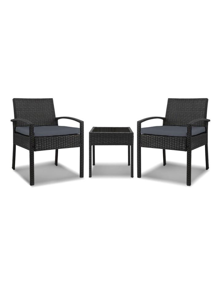 Gardeon 3-piece Outdoor Set - Black image 4