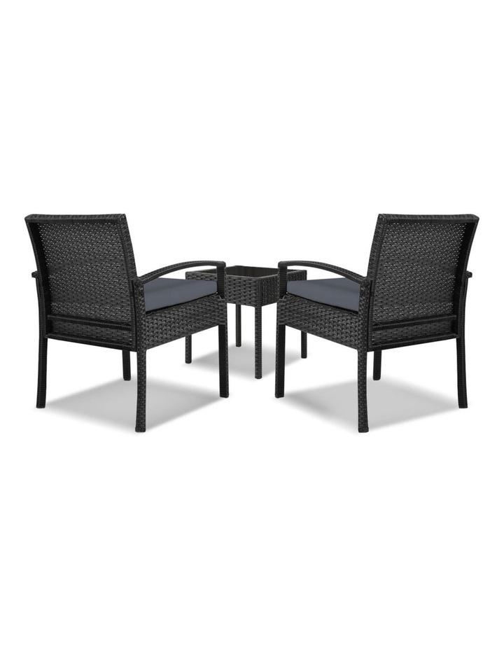 Gardeon 3-piece Outdoor Set - Black image 6
