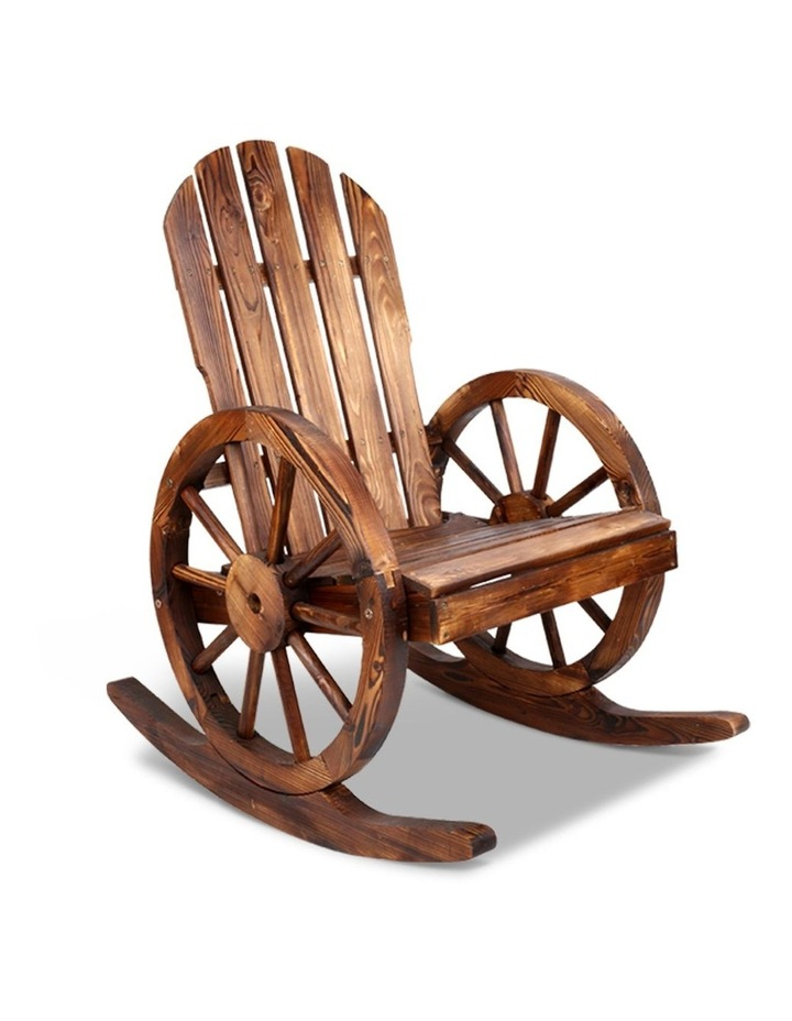 Wagon Wheels Rocking Chair image 1