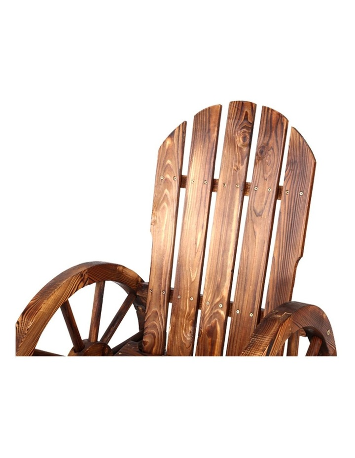 Wagon Wheels Rocking Chair image 3