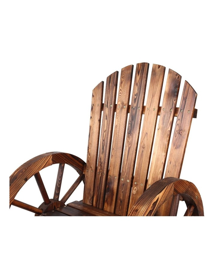 Wagon Wheels Single Rocking Chair image 3
