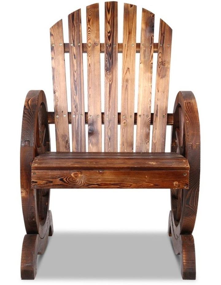 Wagon Wheels Single Rocking Chair image 4
