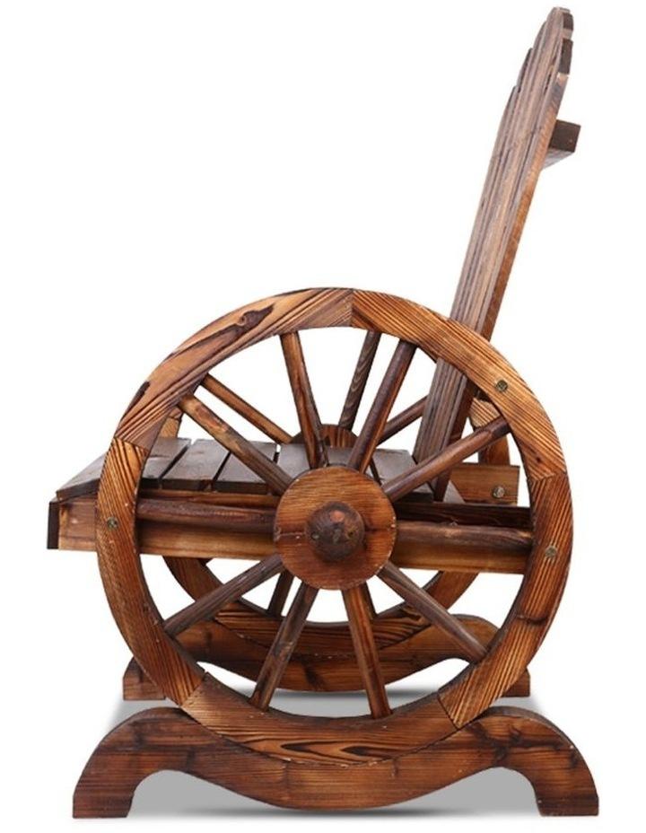 Wagon Wheels Single Rocking Chair image 5