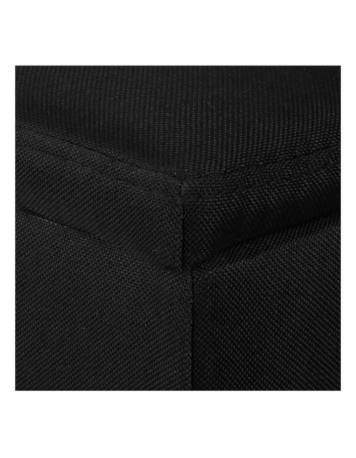 Large Linen Fabric Storage Ottoman image 6