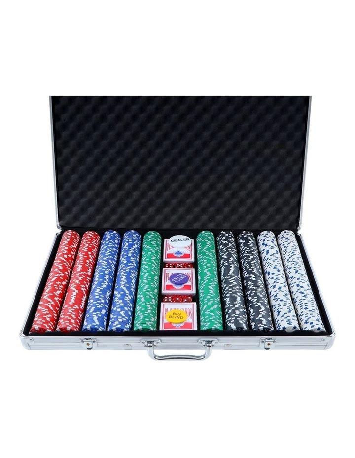 Poker Chip Set 1000PC Chips image 1