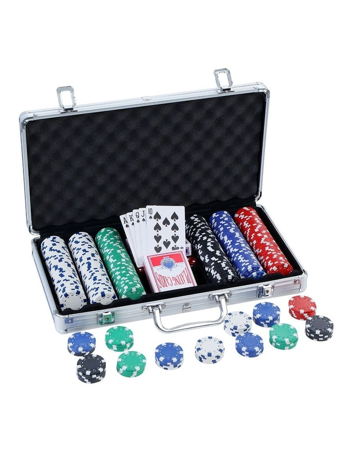 My Plaza Poker Chip Set 300pc Myer
