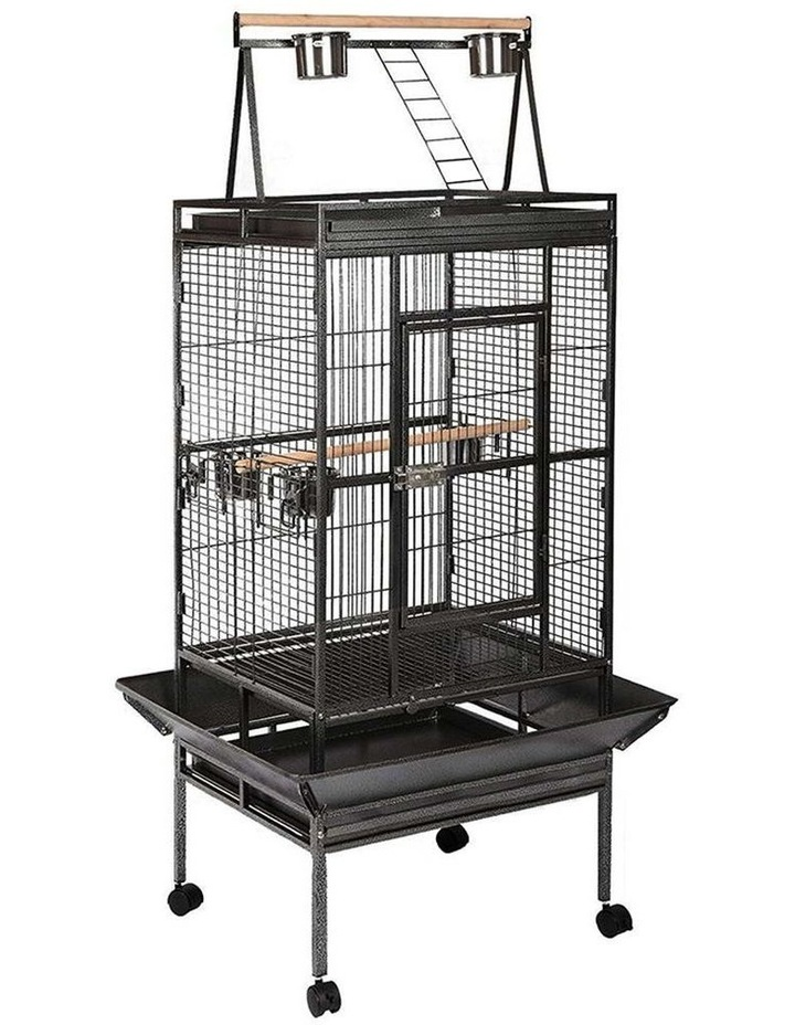 Pet Bird Cage with Perch image 1