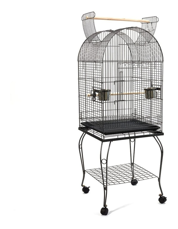 Large Bird Cage with Perch image 1