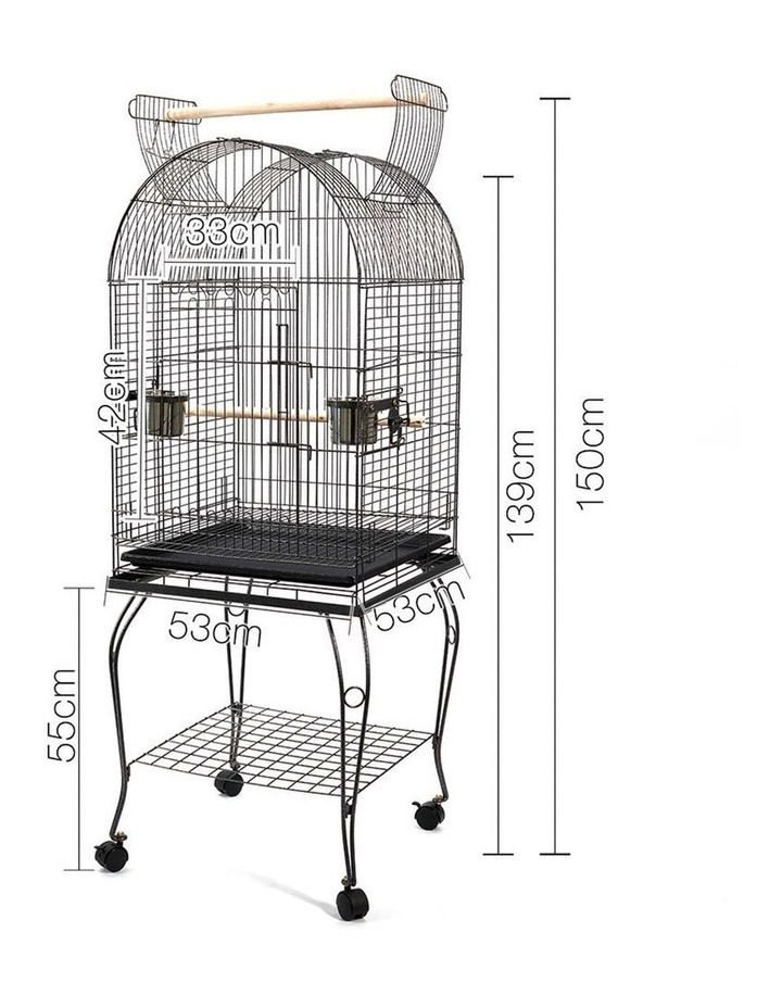 Large Bird Cage with Perch image 2
