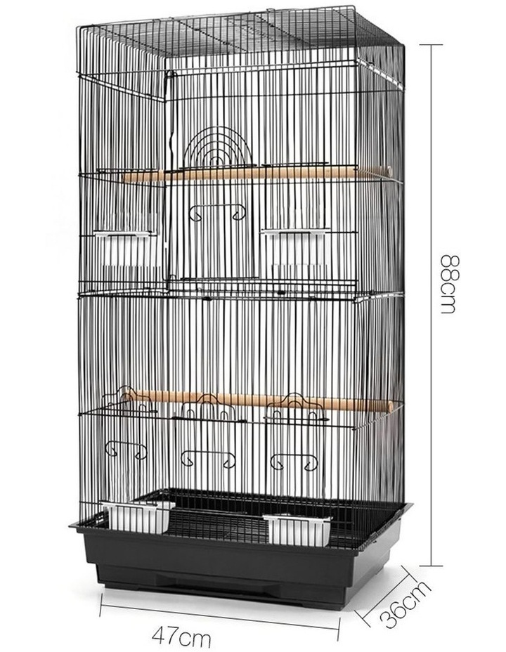 Medium Bird Cage with Perch image 2