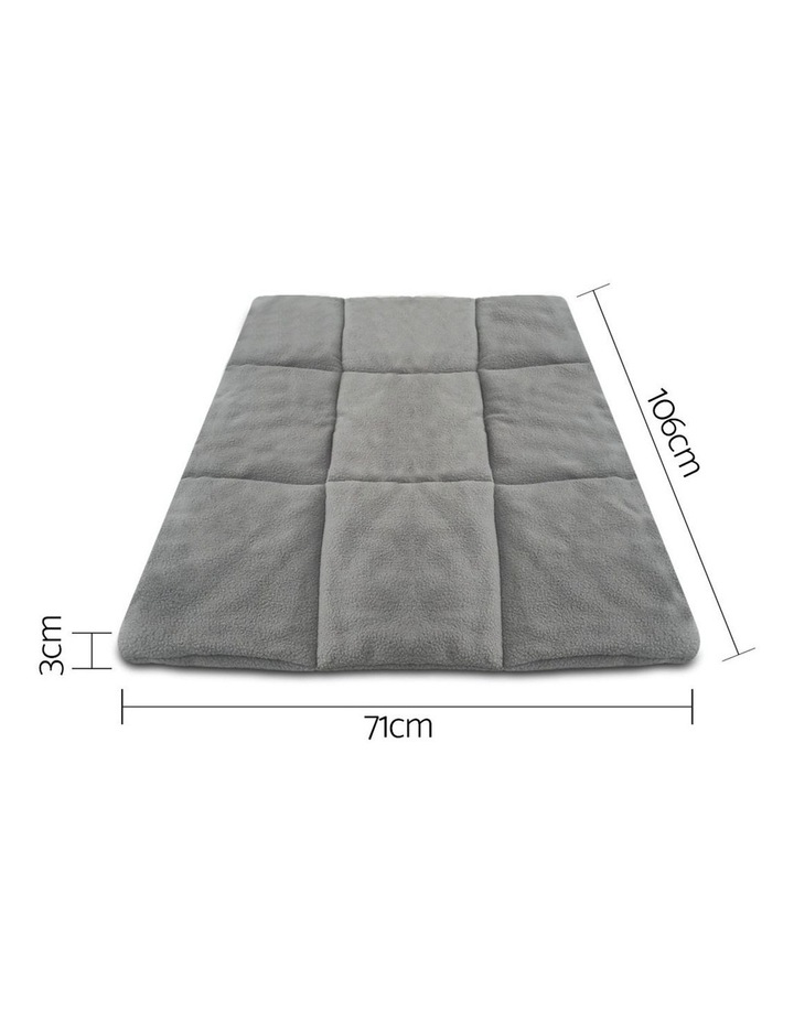 42inch Metal Collapsible Pet Cage Cushion image 2