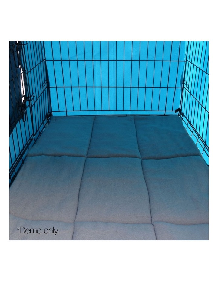 42inch Metal Collapsible Pet Cage Cushion image 4