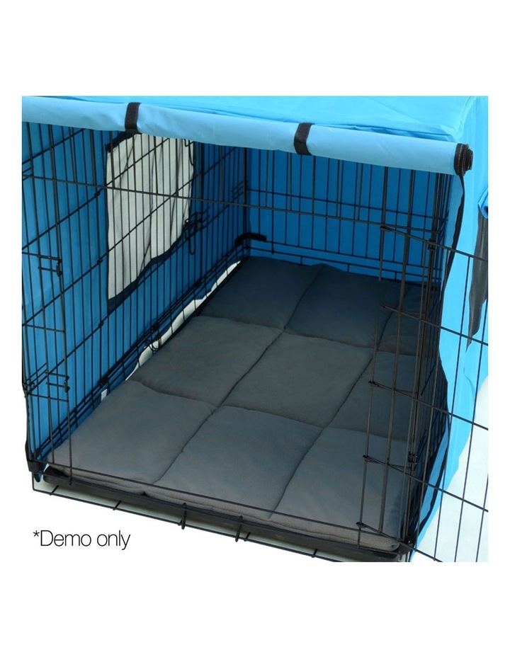 42inch Metal Collapsible Pet Cage Cushion image 5