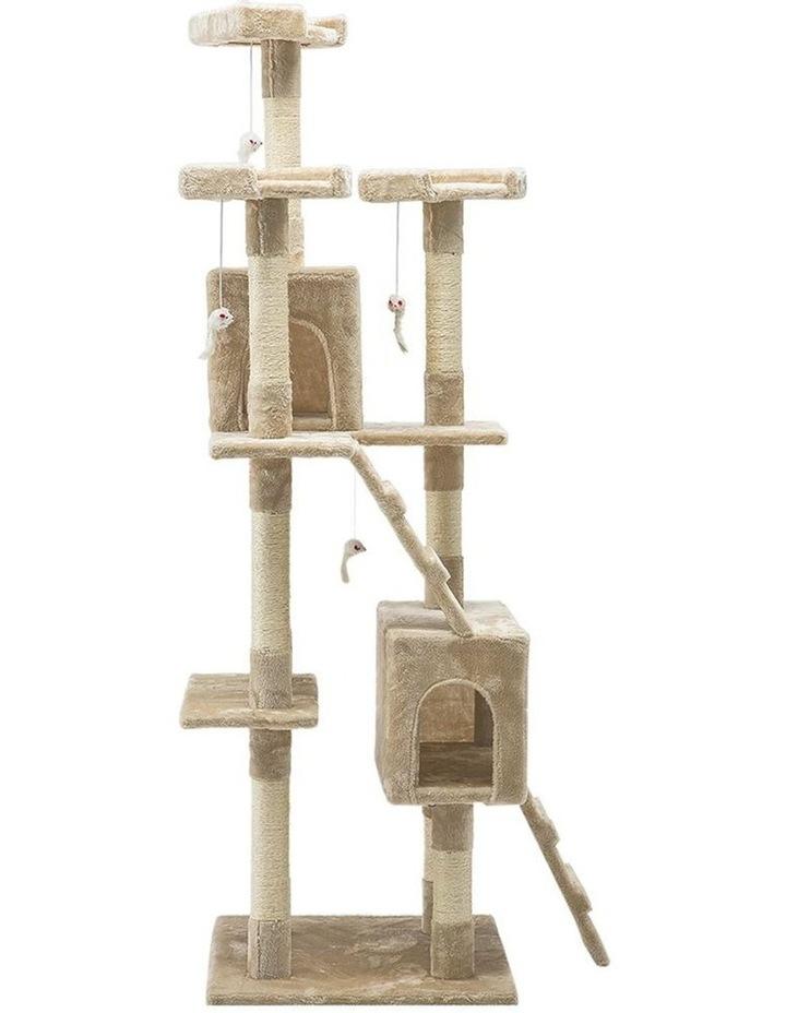 180cm Multi Level Cat Scratching Post image 1