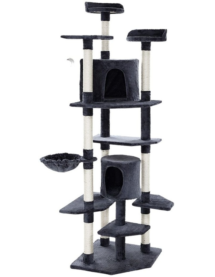 Cat Tree Trees Scratching Post Scratcher Tower Condo House Furniture Wood image 1