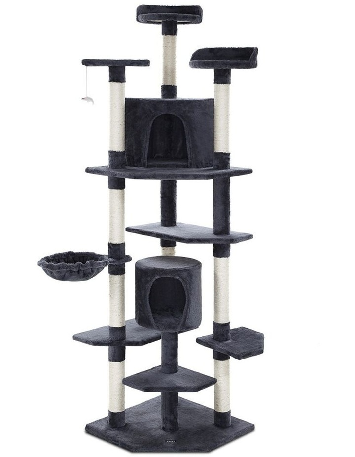 Cat Tree Trees Scratching Post Scratcher Tower Condo House Furniture Wood image 2