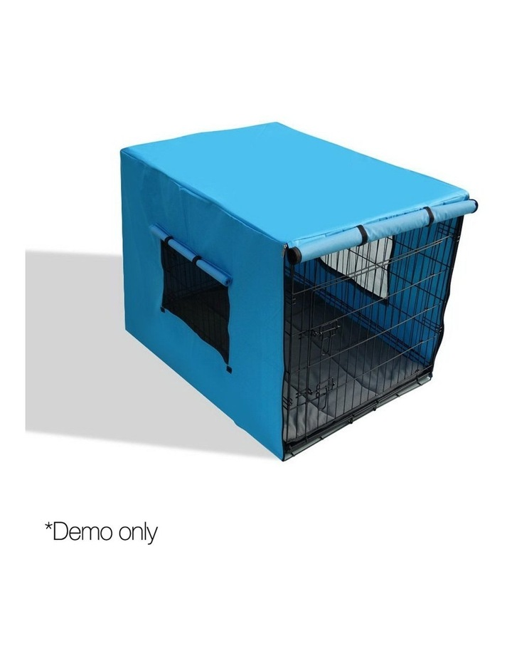 42inch Collapsible Pet Cage with Cover image 1