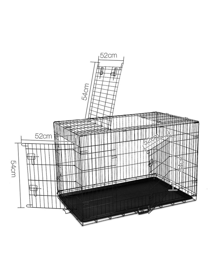 42inch Collapsible Pet Cage with Cover image 3