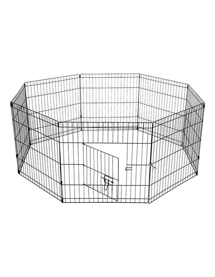 "24"" 8 Panel Pet Dog Playpen image 4"