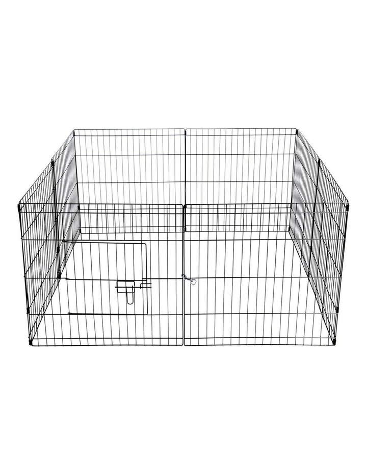 "24"" 8 Panel Pet Dog Playpen image 5"