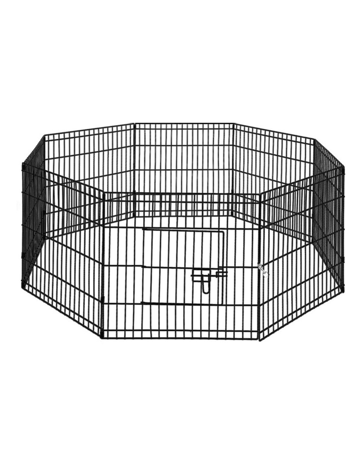 "24"" 8 Panel Pet Dog Playpen image 1"