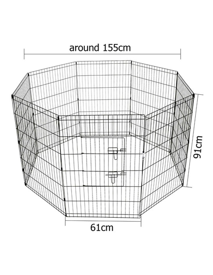"36"" 8 Panel Pet Dog Playpen image 2"