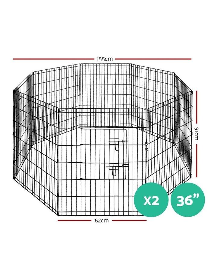"""36"""" 8 Panel Pet Dog Playpen image 2"""